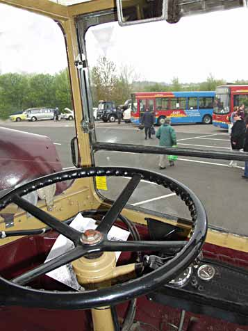 View from cab, AEC Regent III