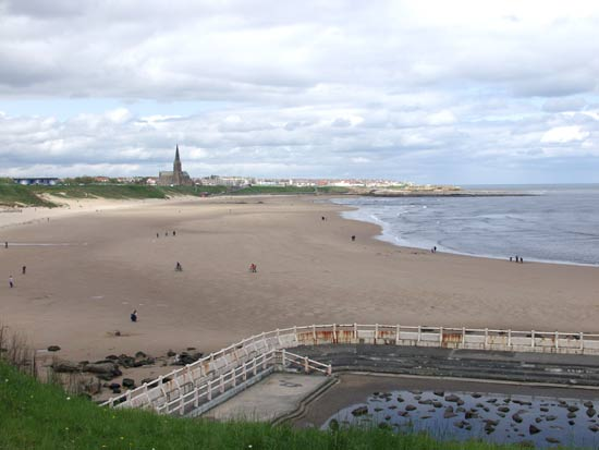 Cullercoats from Tynemouth