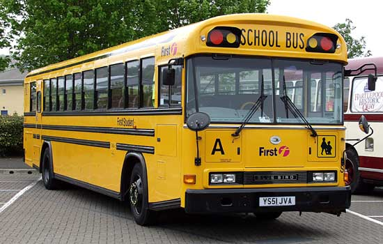 53rd State School Bus
