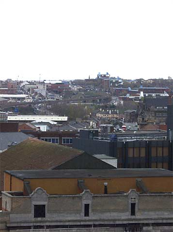 Byker from top of Grey's Monument