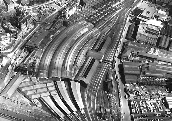 Central Station Aerial View 1973 - Norman McCord