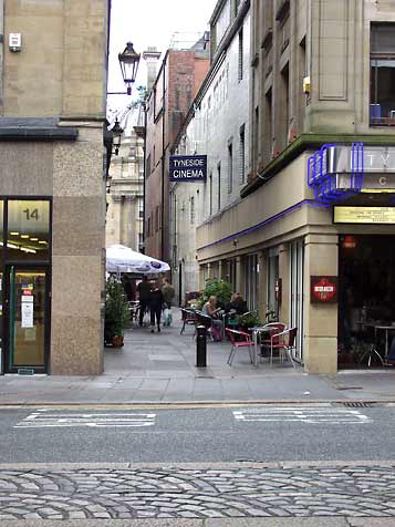 Tyneside side and Coffe Shop