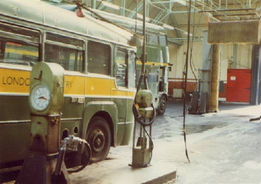 St. Alban's Garage internal 1971